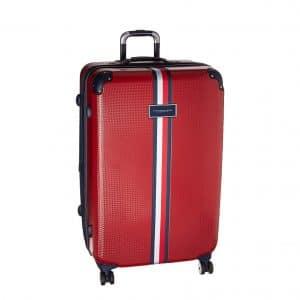 Tommy Hilfiger Basketweave Hardside Suitcase