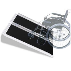 VI-CO 3' Single Foldable Aluminum Wheelchair Ramp