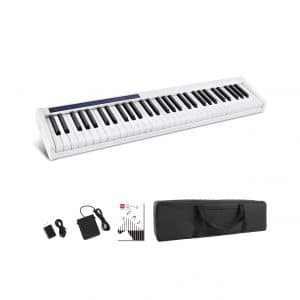 Vangoa 61 Keys Touch Sensitive Portable Digital Piano