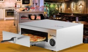 image feature electric pizza maker