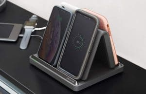 image feature wireless fast charger stand