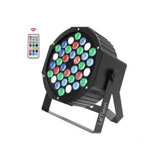 LitMavin 36 Upgrade RGBW LED Stage Lights