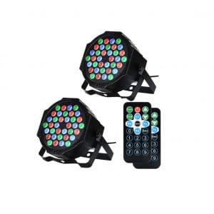 LUNSY DJ Par 36 LEDs Stage Lights