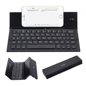 Geyes Folding Ultra-Thin Wireless Bluetooth Keyboard