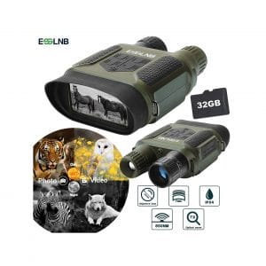 ESSLNB Night Vision Binoculars 1300ft 2-Inches LCD Scope