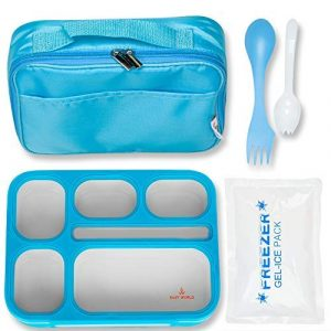 East World Kids Lunch Box with Lunch Bag