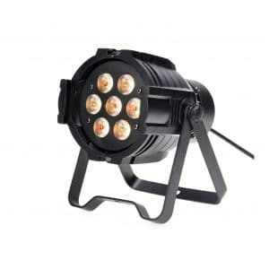 GBGS RGBW LED PAR Light 60W 7 Stage Light