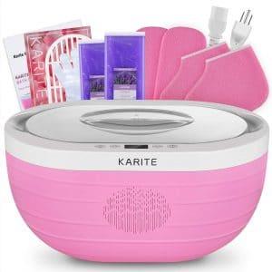 KARITE Paraffin Wax Machine for Hand and Feet, Fast Wax Meltdown Paraffin Bath, 3000ml Large Capacity Paraffin Wax Warmer