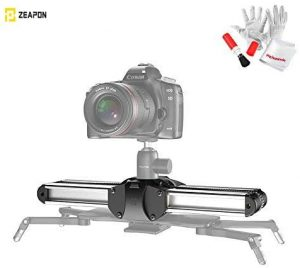 Zeapon Micro 2 Camera Rail Slider, Travel Distance 54cm 21in, Max. Payload 8kg 18lbs, Consistency Speed, Self-Locking, Automatic Dust Scraper, Carry Bag Included, W Pergear Cleaning Kit