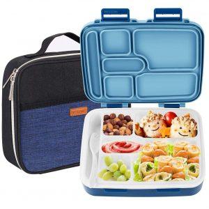 NEXTAMZ Leak-Proof Bento Lunch Box for Kids