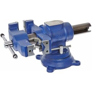 Yost Tools 5-Inches Heavy-Duty Universal Double Swivel Vise