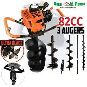 Horti Power Gas Powered 82CC Post Hole Digger