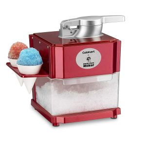 Cuisinart SCM-10P1 Snow Cone Machine, Red