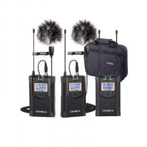 Frunsi Wireless Microphone Comica Lavalier