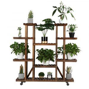 Yaheetech Plant Stand Shelf Indoor