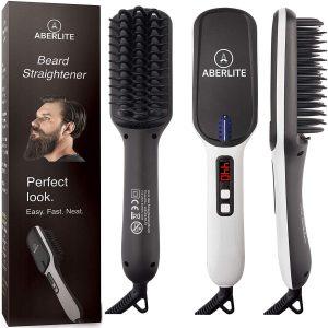 Aberlite Beard Straightener Brush