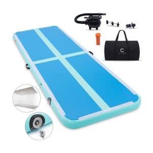 CIIHI Inflatable Gymnastics Floor Tumbling Mats