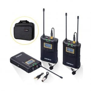 Comica Wireless Lavalier Microphone System