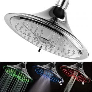 Hotel Spa Ultra-Luxury 8-inches LED Shower Head