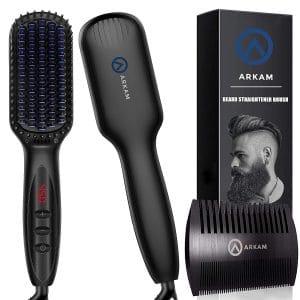 Arkam Beards Straightener Brush for Men