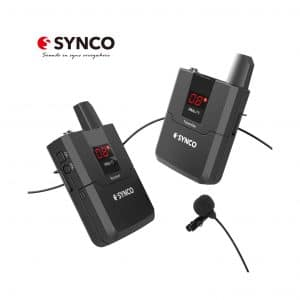 SYNCO Wireless Lavalier Microphone System