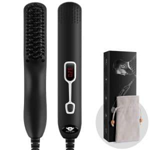 Cayzor Beard Straightener Brush for Men