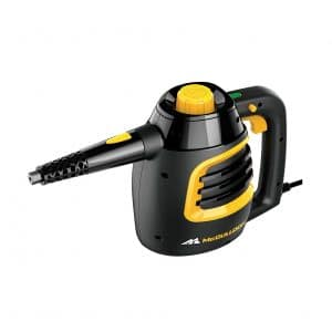 McCulloch MC1230 Black Handheld Steam Cleaner w/Extension Hose