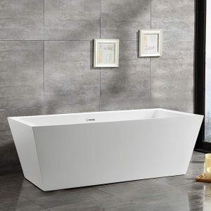 Vanity Art 59-Inches Freestanding Bathtub