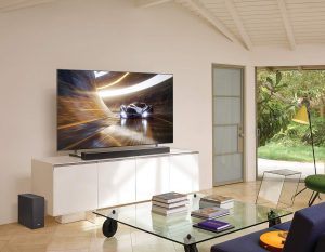 Sound Bars with Built-in Subwoofers