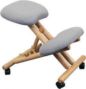 Flash Furniture Wooden Kneeling Posture Chair