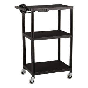 Norwood Commercial Adjustable Height AV Cart
