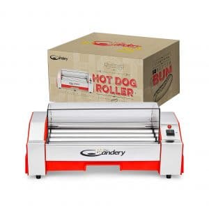 The Candery 6 Hot Dog Capacity Maker