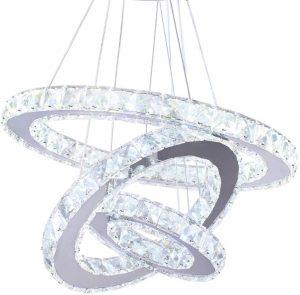 Winretro Modern Crystal Chandelier
