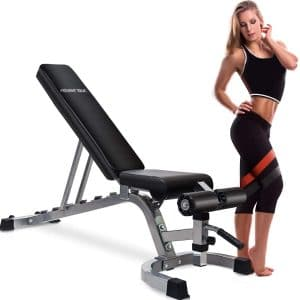 Merax Weight Bench 800Lbs Adjustable Utility Bench