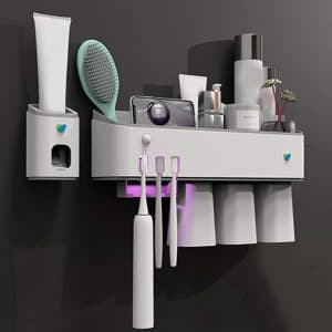 XLBAXLJ UV Toothbrush 5 Toothbrush Slots Sterilizer