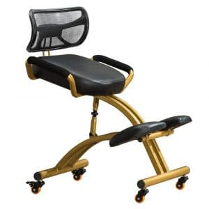 YLOVOW Kneeling Steel Frame Office Chair