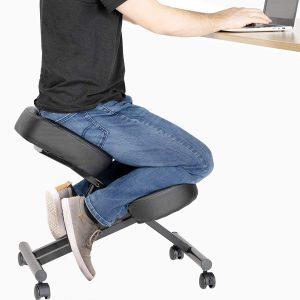 DRAGONN Ergonomic Adjustable Stool Kneeling Chair