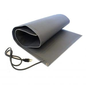 Roof Heating Systems heated Walkway Mat
