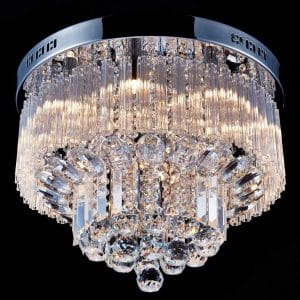 Saint Mossi K9 Crystal Raindrop Chandelier Lights