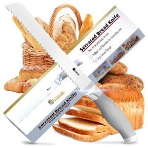 Orblue Serrated Ultra-Sharp Bread Knife
