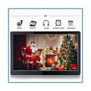 WSD 12-Inches LCD Digital Frame High-Resolution IPS