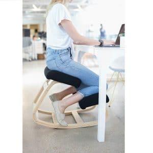 Sleekform Kneeling Rocking Ergonomic Wooden Chair