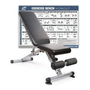 RitFit Foldable Adjustable Utility Bench