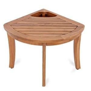 Cambridge-Casual Solid Teak Wood Estates, Bath and Shower Mat