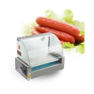 Carejoy Commercial 18 Hot Dog and 7 Roller Maker
