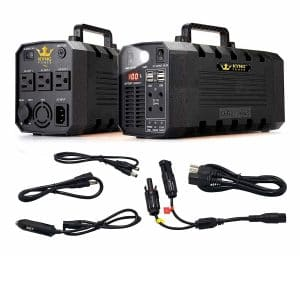 KYNG Power Solar Generator Battery Powered Portable Power Station for Camping