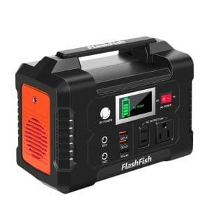 FF FLASHFISH 200W 40800mAh Solar Generator Portable Power Station for Outdoor