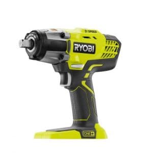 Ryobi 18V ONE+ 3 Speed ½-Inches Cordless Impact Wrench