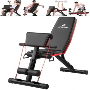Mosunx Adjustable Weight Full Body Bench