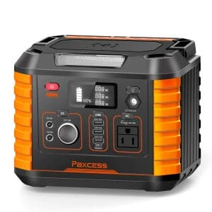 PAXCESS Portable 330W Power Station Camping Generator for Travel